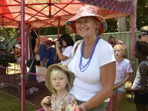 Mandy Roberts of Iluka with granddaughter Freya Cook