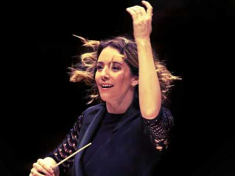 Alondra de la Parra will be conducting a number of performances coming up at Concert Hall, QPAC, with the Queensland Symphony Orchestra.