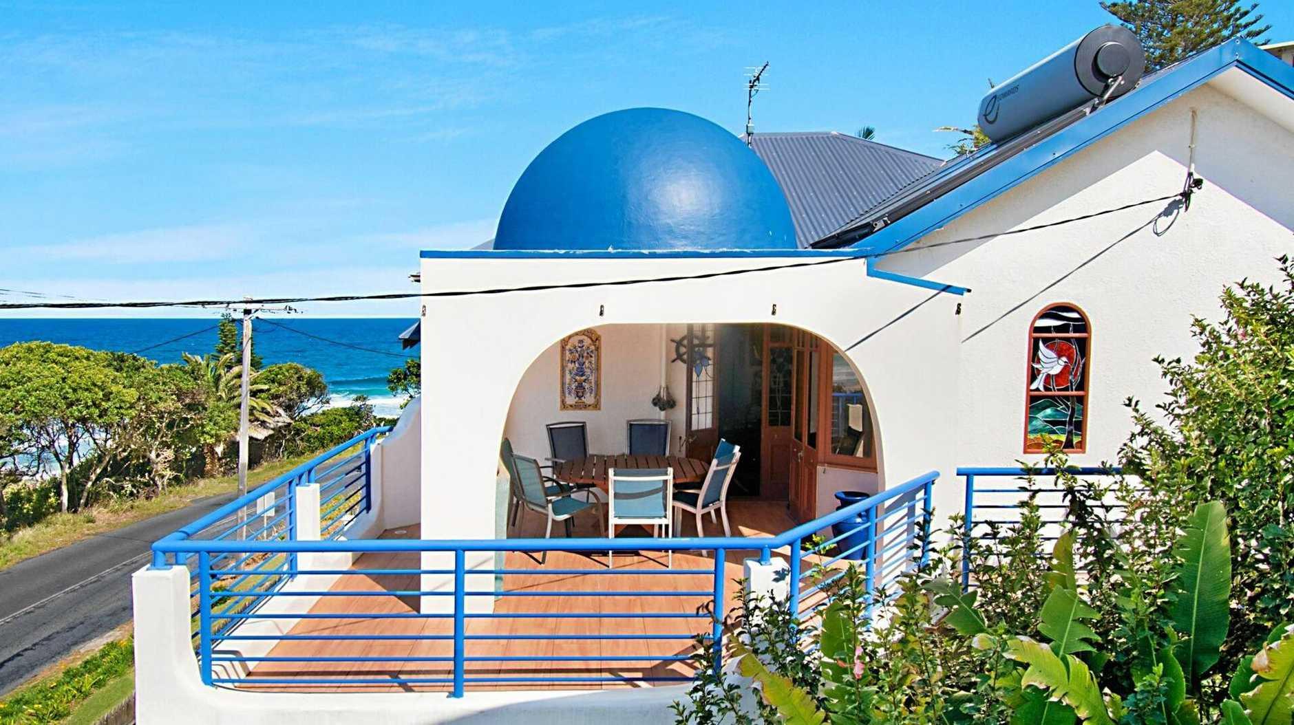 Ballina beachside property known as 'Mykonos' at 25 Suvla Street, East Ballina is on the market.