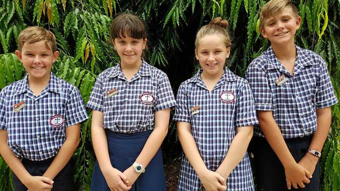 St Francis Xavier Catholic Primary School recived a rank of 87 by Better Education. 2018 School Captains, Liam Zurvas, Victoria Silman, Ruby Crouch, Campbell Grisan-Hodges.