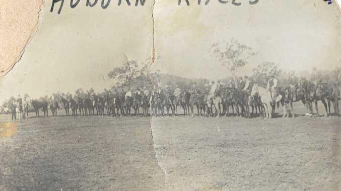 Jockeys ride into history