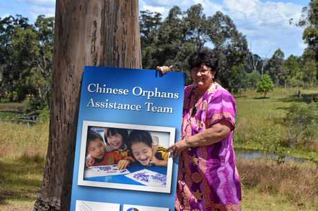 Gympie grandmother Linda Shum uses technology to bridge the gap so she can spend every day with her foster children in China.