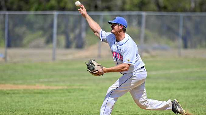 Josh Roberts pitches for Ipswich against Windsor at Tivoli on Sunday.