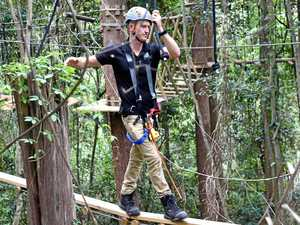 FIRST LOOK: Treetop course takes adventure to new level