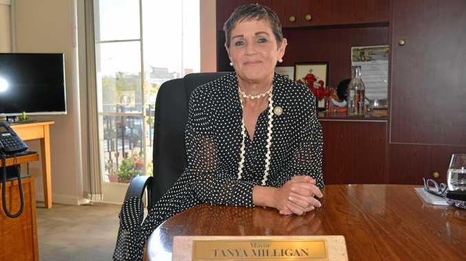 LOOKING FORWARD: Mayor Tanya Milligan hopes for another successful year.