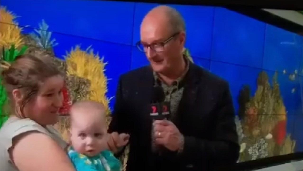 Brooke Lucas was interviewed by David Koch on Channel 7 in 2018.