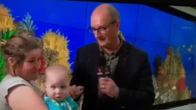 Brooke Lucas was interviewed by David Koch on Channel 7 in 2018.