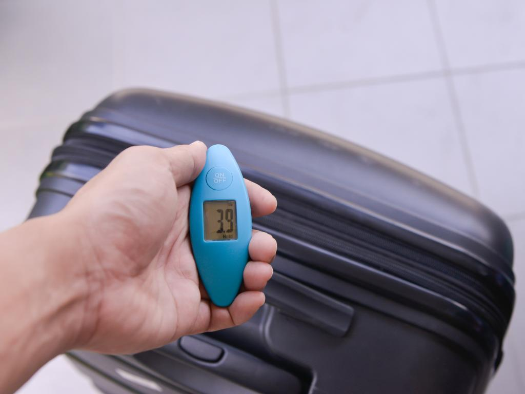 Luggage scales: A must for any traveller on a budget.