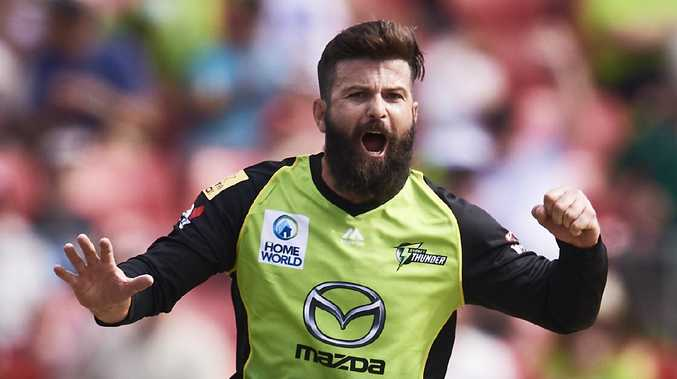 Sydney Thunder's Anton Devcich wants to get back in the New Zealand team in time for next year's T20 World Cup. Picture: Getty Images