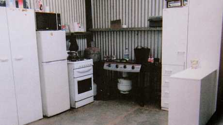 Dangerous wires, filthy appliances and no bating or toilet facilities marked the Colts' filthy bush camp.