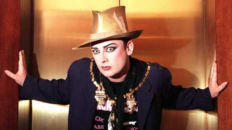 Clive Palmer pinched Boy George's hit Karma Chameleon for the game.