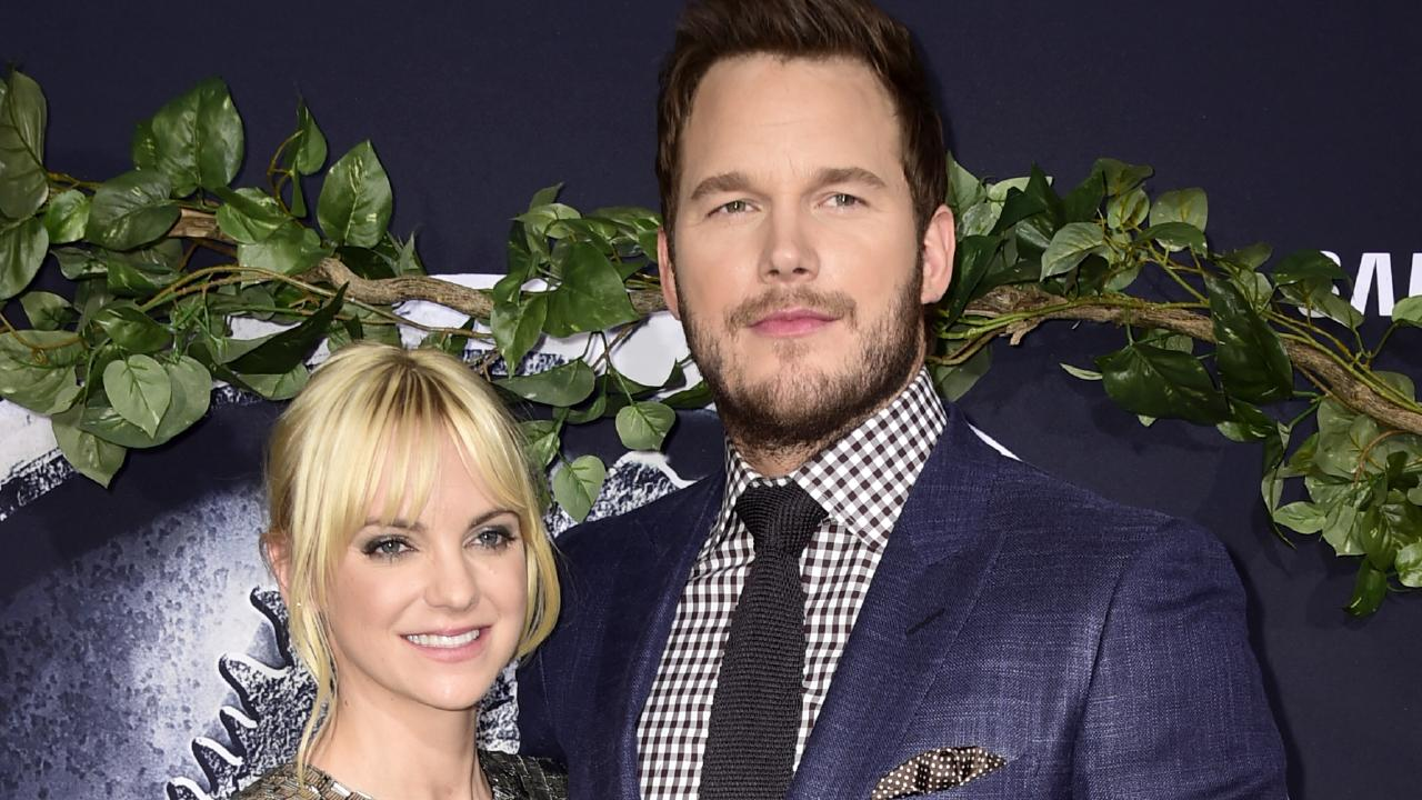 Anna Faris and Chris Pratt. Picture: Frazer Harrison/Getty Images