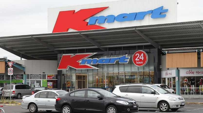 Kmart profits are down, due to no longer selling CDs and DVDs.