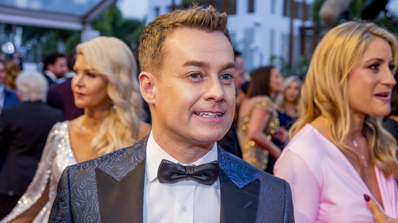 Denyer on the red carpet at the Logies last year. Picture: Jerad Williams