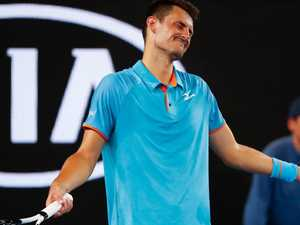 'I did the right thing': Tomic stands by Hewitt rant