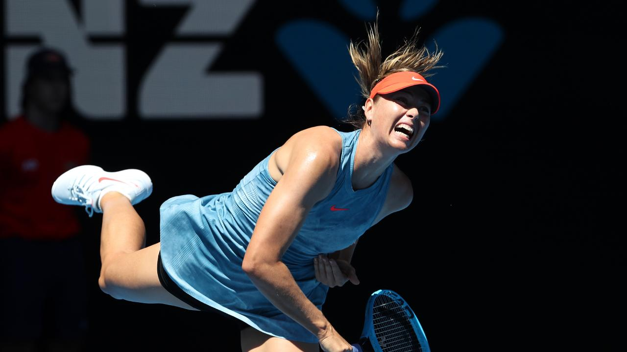 Maria Sharapova has called out the issue of sexism on the tennis tour. Picture: AAP