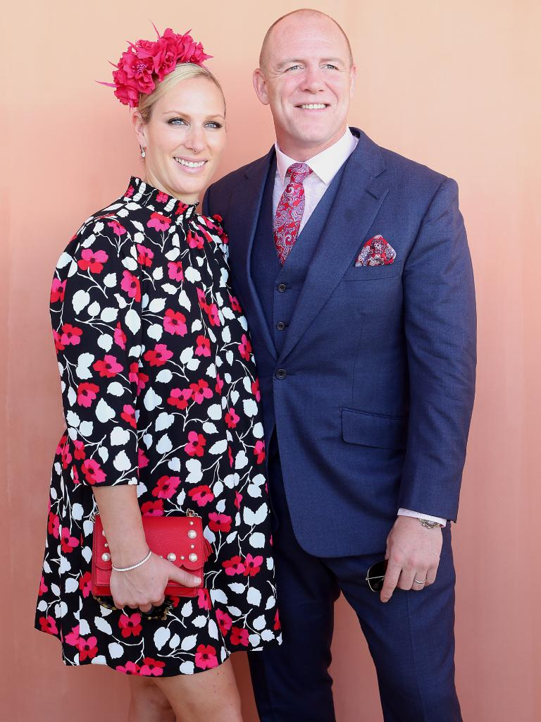 Zara and Mike Tindall. Picture: AAP/Jono Searle