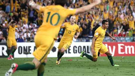 It took Tim Cahill to do the business again. (Ryan Pierse/Getty Images)
