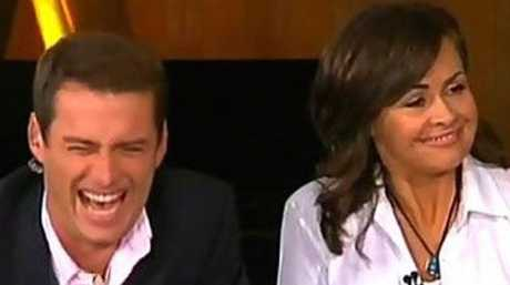 Stefanovic, pictured alongside former Today co-host Lisa Wilkinson, during the infamous post-Logies show.