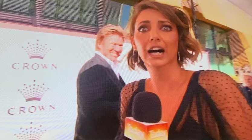 Brooke Boney's face says it all.
