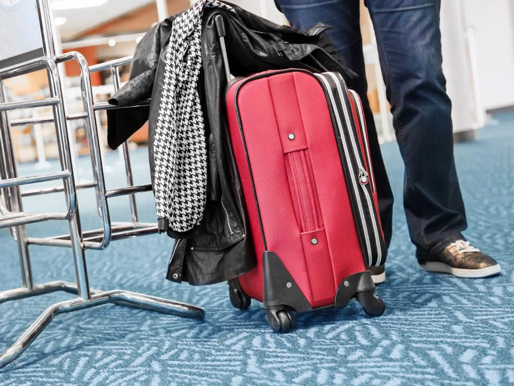 Don't expect to fly under the radar with your bulging carry-on case.