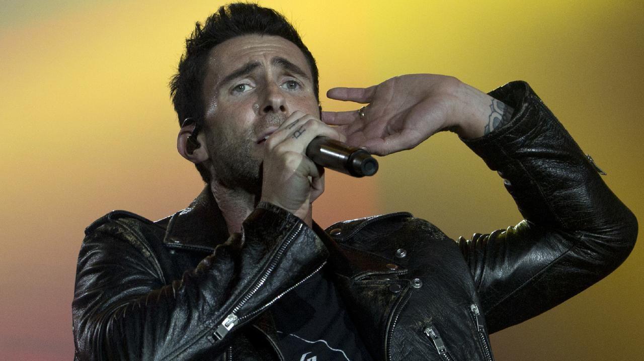 Adam Levine of Maroon 5.
