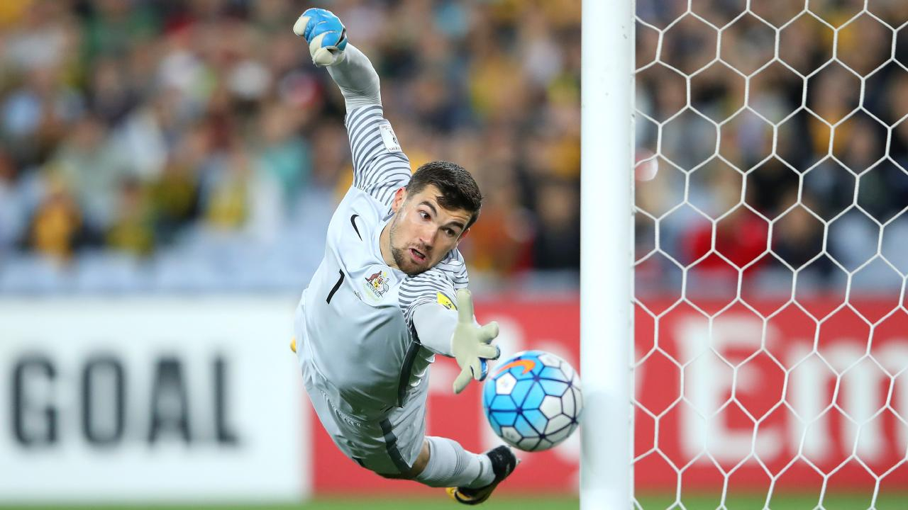 Mat Ryan knows what to expect from Syria. (Cameron Spencer/Getty Images)