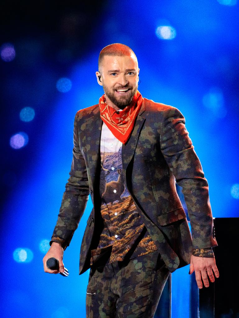 But JT's performance fell a little flat last year. Picture: Christopher Polk/Getty Images