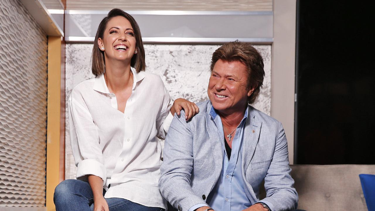 Today Extra entertainment host Richard Wilkins with Brooke Boney who has replaced him as entertainment reporter on the Today show. Picture: Sam Ruttyn