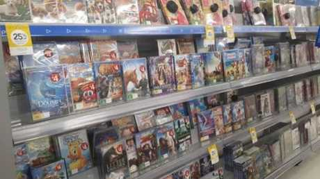 Wesfarmers blames scrapping DVD sales at Kmart for a profit slump.
