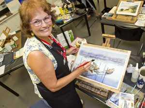 Sue Lederhose. McGregor Summer Arts Retreat at USQ.
