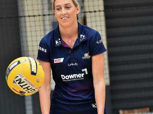Sunshine Coast Lightning netball clinic at the
