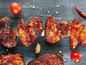 Tasty offering in the wings