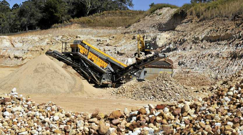 A new quarry at Scotchy Pocket is getting ready to open.