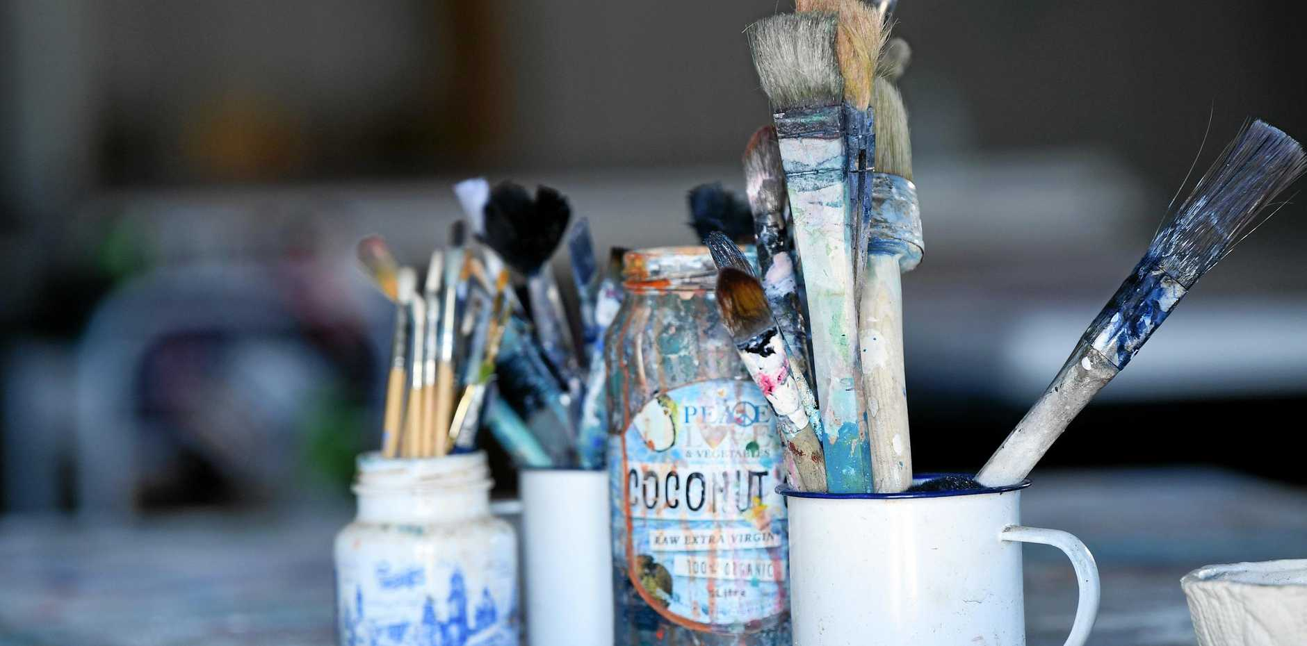 Young Queensland artists are encouraged to enter their art for the competition.