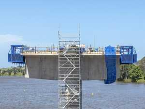 Time-lapse video shows latest on new Grafton Bridge