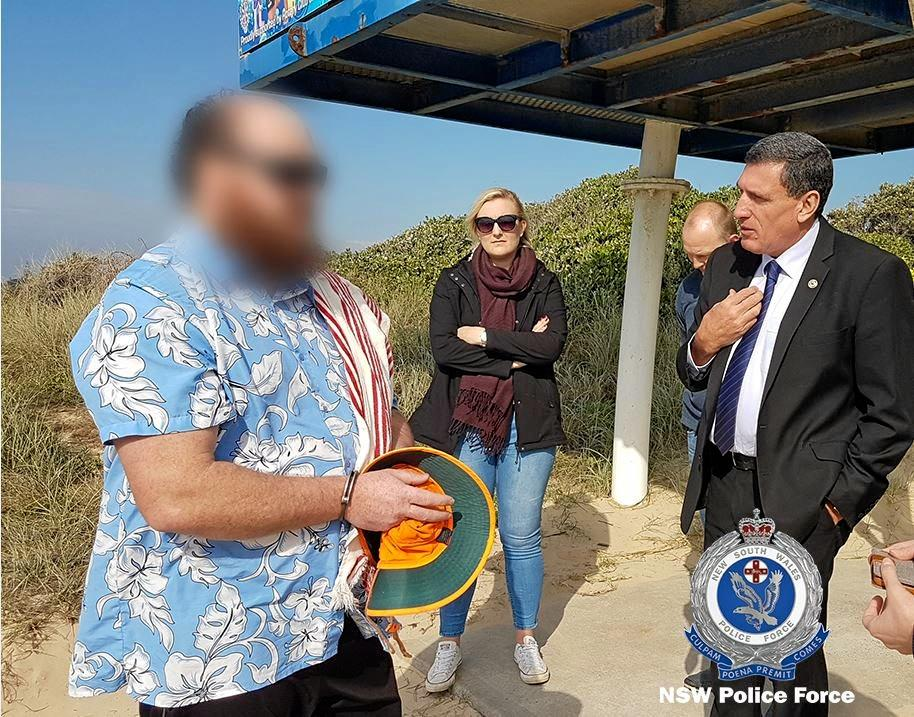 The alleged offender was arrested at Park Beach in Coffs Harbour last year.