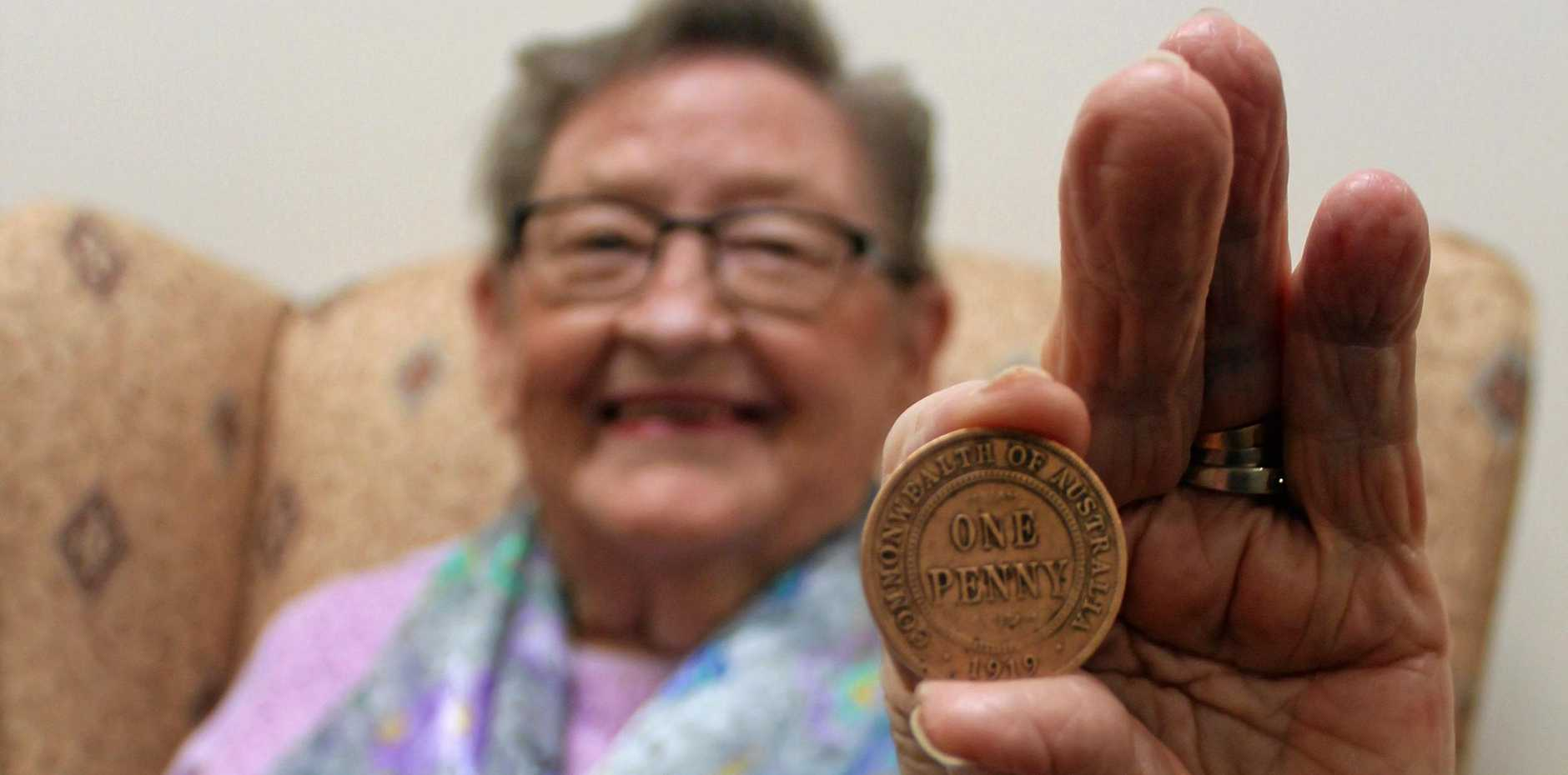 100-year-old coin found, but Val's 'not worried' about value
