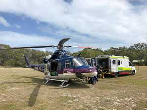 Person airlifted after serious farm accident near Rocky