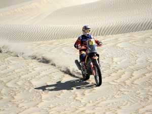Aussie Toby Price pushing for podium at Dakar Rally
