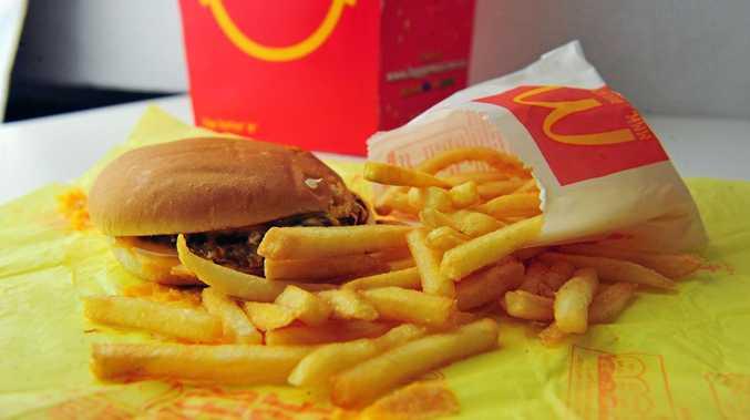 McDonalds products. Photo: Max Fleet / NewsMail