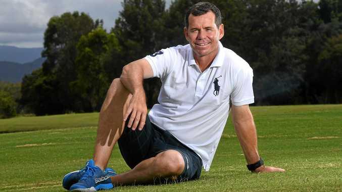 Former tennis grand slam winner and professional golfer, Scott Draper.