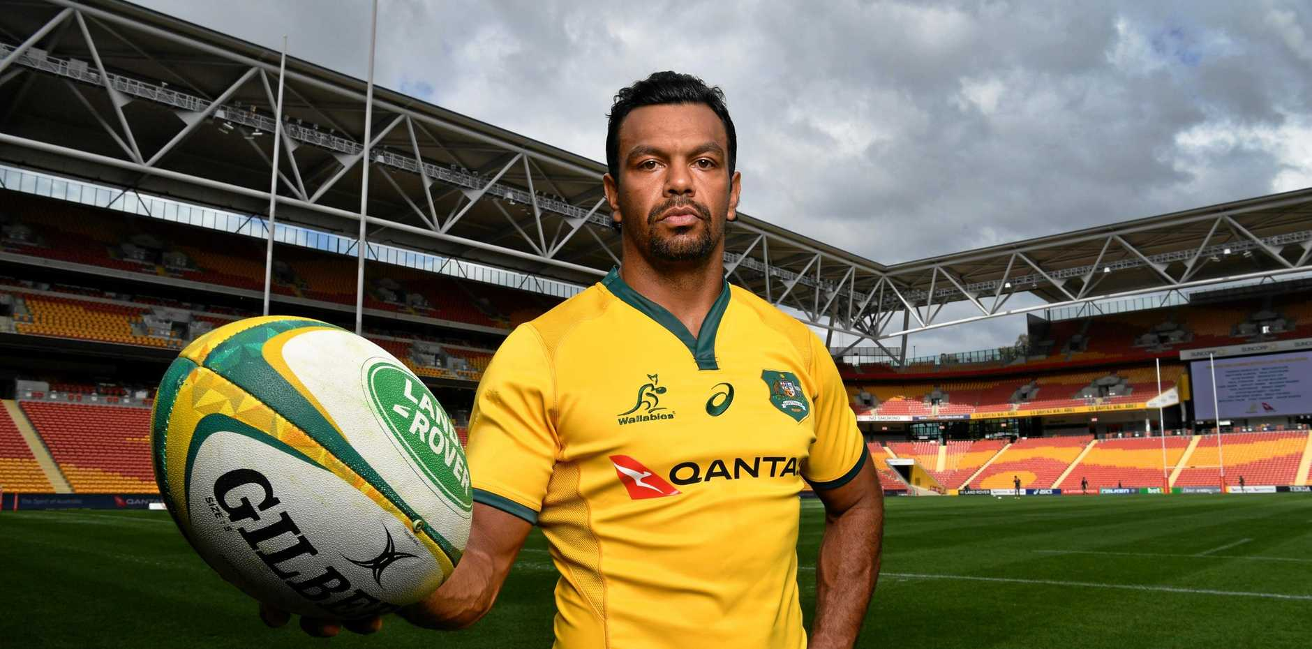 Kurtley Beale is getting some unwanted publicity.  Picture: Darren England/AAP