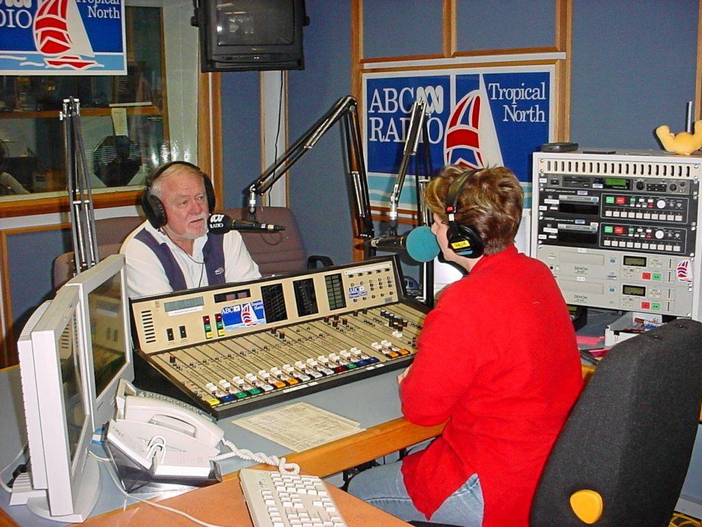 Ray Johnston Broadcasting on ABC