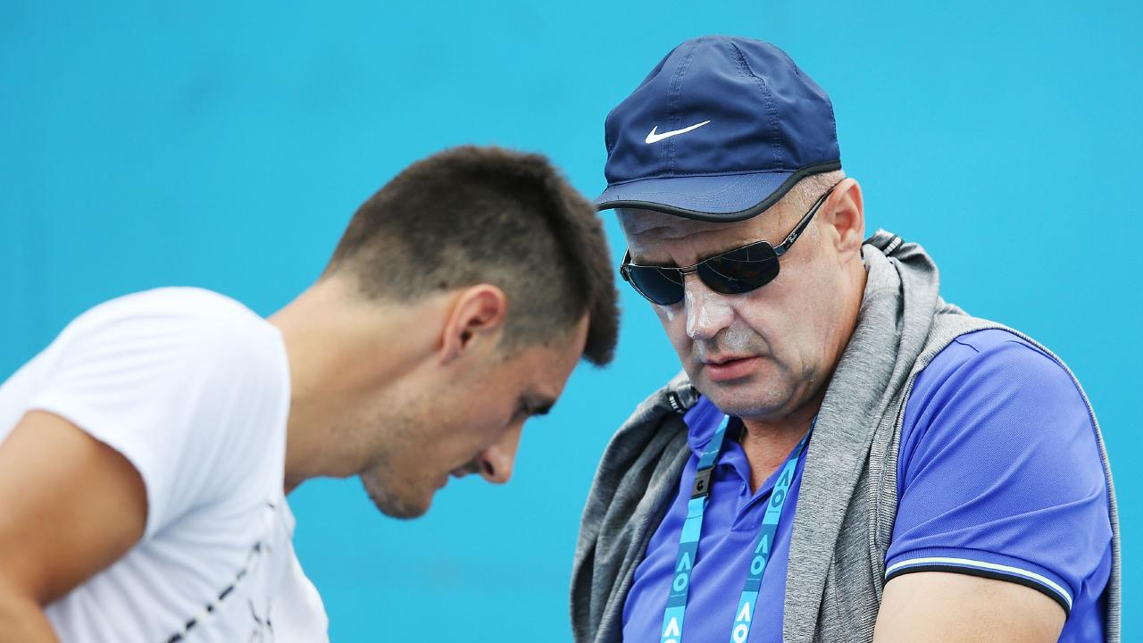 John Tomic has been a vocal critic of Tennis Australia. Picture: Getty