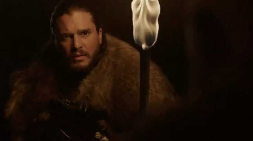 Jon Snow is looking a little confused and stressed in the new Game of Thrones teaser.
