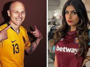 Porn star's stunning Socceroos revelation