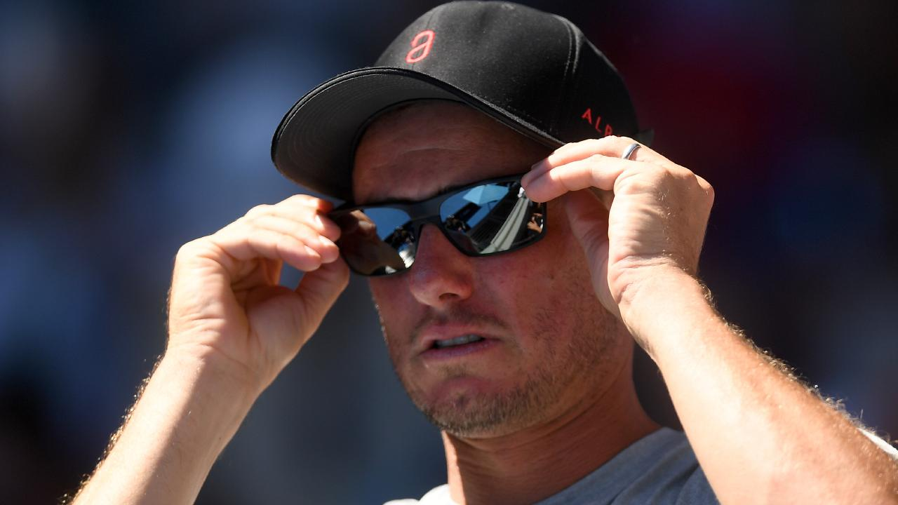 Lleyton Hewitt has laughed off Bernard Tomic's allegations. Picture: Lukas Coch/AAP
