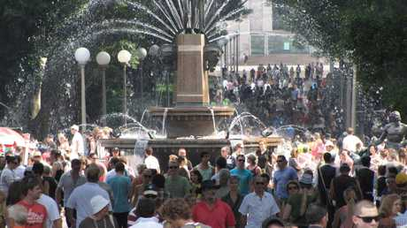 2010: The opening of the festival was packed nine years ago.