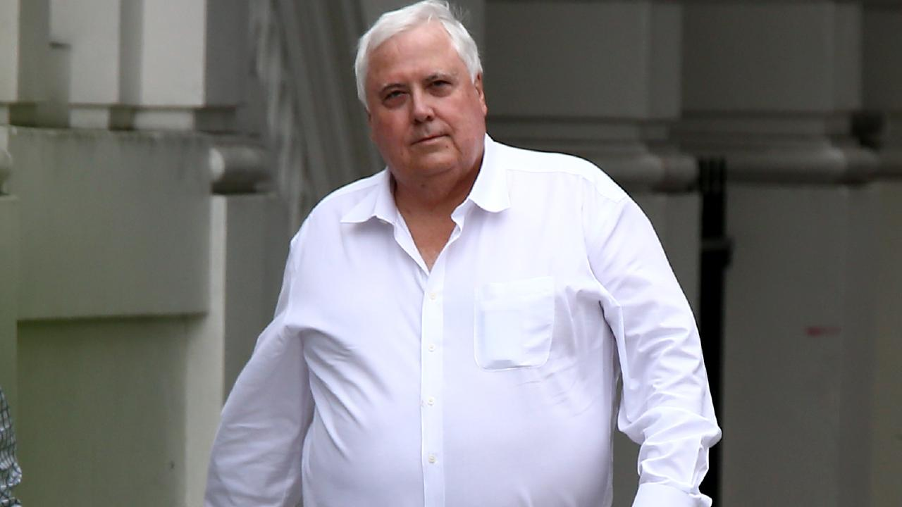 Political pundits say Clive Palmer has 'no hope in hell' and a 'nil' chance of winning the seat of Herbert, so why is he spending so much on advertising? Picture: AAP